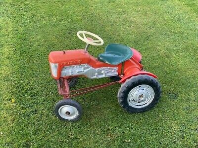 Vintage Triang Child's Ride On Tractor Good Condition, Approx L 63cm X W 48cm • 180£