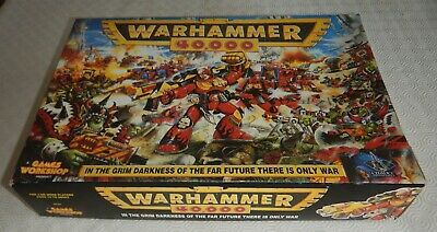 Warhammer 40K Box Set. Part Paint, 100 + Figures, Complete Books, Cards & Dice • 36£