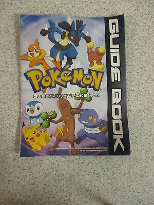 Guess That Pokemon ~ Guide Book (2008) • 1.75£