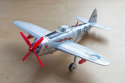 Working Dinky Toys P47 Thunderbolt 734 American Fighter Aircraft  • 50£