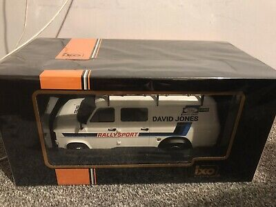 Ixo 1/18 Ford Transit Mk2 David Jones Rally Sport Team 1979 • 98£