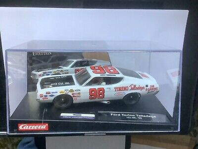 Carrera Evolution FORD TORINO '69 Talladega #98 MINT Display Case  Scalextric • 35£
