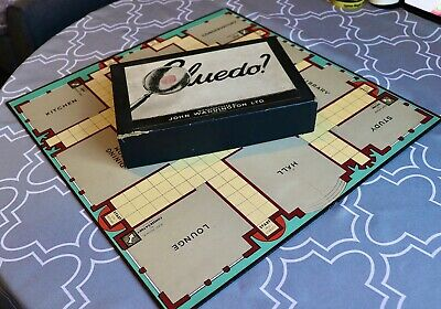 Early Cluedo First Edition Waddingtons 1949 Patent No 586817 Complete Game Excon • 4.99£