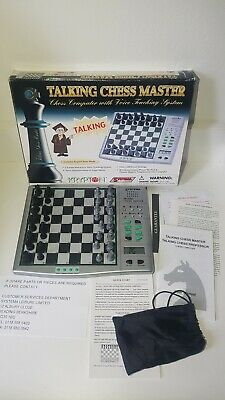 Vintage Chess Computer KRYPTON SYSTEMA TALKING CHESS MASTER Game System Boxed • 39.99£