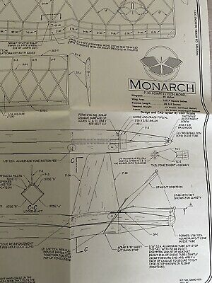 Monarch P30 Competition Model Plan  • 6£