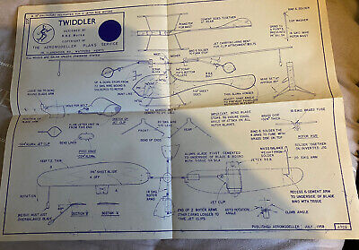 Twiddler Plan Designed By R.r.e Morse The Areomodler Plans Service • 5£