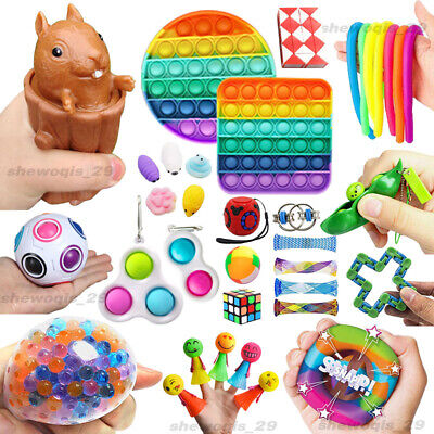 Fidget Toys Set 23 Pack Sensory Tools Bundle Stress Relief Hand Toys Kids Adults • 11.29£