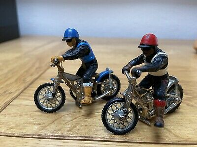 Vintage BRITAINS 'SPEEDWAY' Racers & MOTORCYCLES/BIKES. With Riders 1:32  • 36£