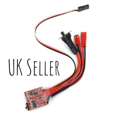 30A Brushed ESC*Electronic Speed Controller*WPL*MN90*Car*Truck*Boat*UK Seller. • 6.49£