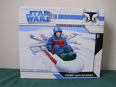 New Boxed Star Wars X-Wing Fighter Snow Inflatable - 2008 - BNIB - Sealed - Rare • 49.99£