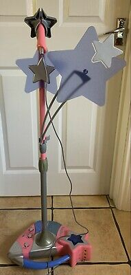 SMOBY Star Party Duo Mix Microphone Adjustable Height Age 5+ Working • 12£