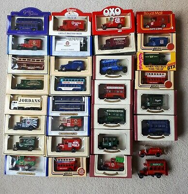 31 X Lledo And Oxford Die-Cast Vehicles Most In Excellent Condition • 25£