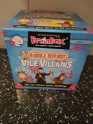 Horrible Histories BrainBox Vile Villains • 5£