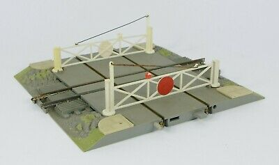 Triang Minic Motorway Road Rail Railway Level Crossing With Gates • 15£