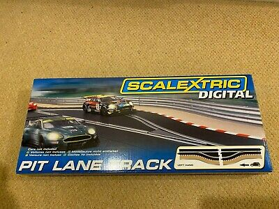 Scalextric  Digital   C7014  Pit Lane Track Left Hand  • 21£