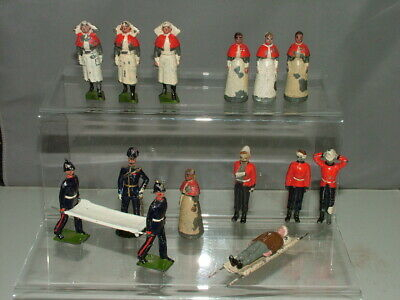 Britains Royal Army Medical Service Military Soldiers Nurses Wounded #137  (2) • 10.50£