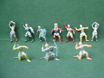1960s Cherilea First Series Plastic Swoppet Knights X 10 Incomplete For Spares  • 9.99£