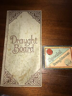 Vintage - Retro Draught Board And Draughts • 0.99£