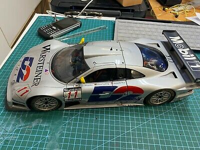 Two Mercedes CLK GTR 1:12 And 1 :18 • 30£