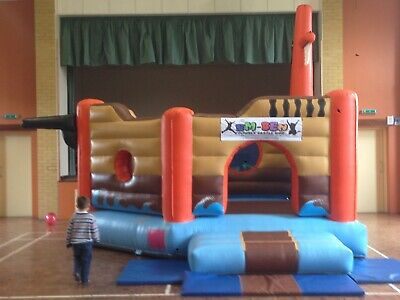 Commercial Pirate Ship Bouncy Castle With Test Certificate • 550£