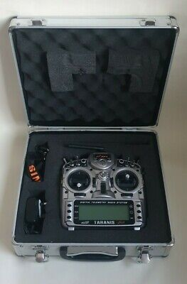 Frsky Taranis X9D Plus MODE 2 With Hard Case  • 130£