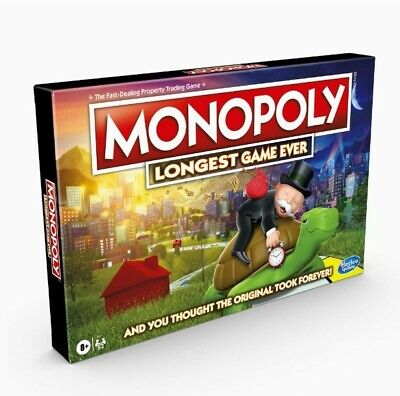 Hasbro Monopoly Longest Game Ever Brand New And Sealed (Exclusive)  • 39.99£