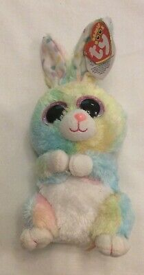 TY Beanie Boo Bubby Bunny Rabbit Soft Toy With Tags • 4£