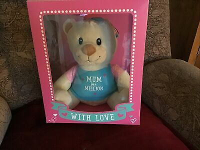 "Soft Toy NEW In Box "" Mum In A Million"" • 5.50£"
