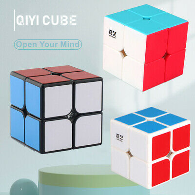 2X2X2 Magic Cube Rubic Puzzle Super Smooth Fast Speed Cube Kids Toy UK Seller • 4.47£