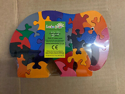 Lanka Kade Fair Trade Ethical Wooden Puzzle Toy  • 6£