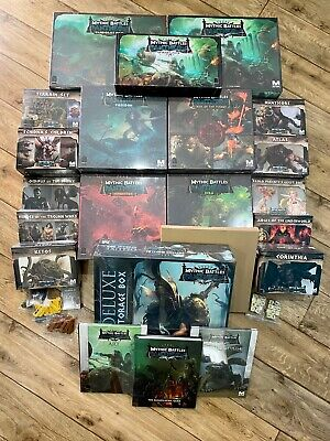 Mythic Battles Pantheon 1.0 All-in Kickstarter With 1.5 Upgrade Pack - Brand New • 999£