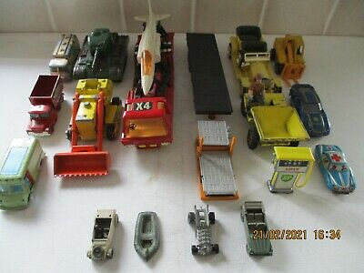 Collection Of Diecast,plastic ,tinplate Toys - Many Makes. • 3.99£