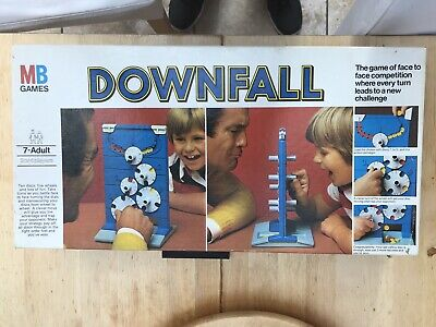 DOWNFALL MB Games Vintage 1977 Complete Boxed • 12.50£