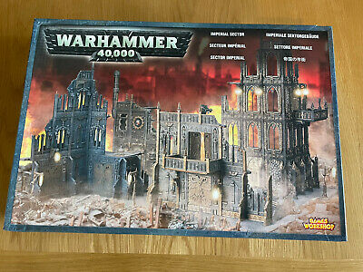 Warhammer 40K Imperial Sector Scenery TerraIn Box Set - New And Unused OOP Rare • 99£