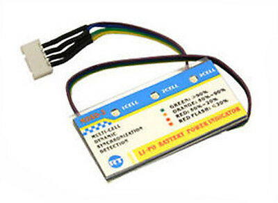 RC Systems On Board LiPo Battery Checker (3 Cell) • 7.95£