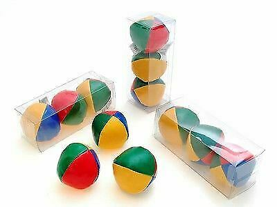 Coloured Juggling Balls Circus Clown Learn To Juggle Circus Toys Pack 3  New • 4.99£