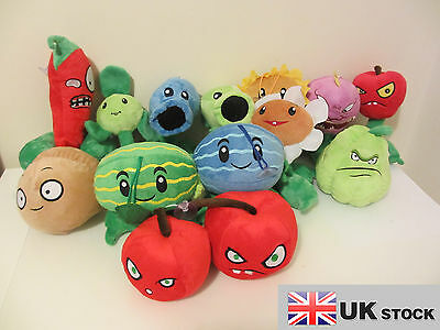Plants Vs Zombies Plush Soft Toys In Different Choices UK SELLER FAST DELIVERY • 4.49£