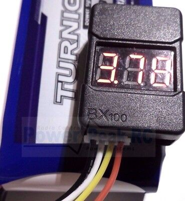 LiPo Low Voltage Alarm & Cell Voltage Checker Tester Adjustable 2-8s Turnigy HC • 4.29£