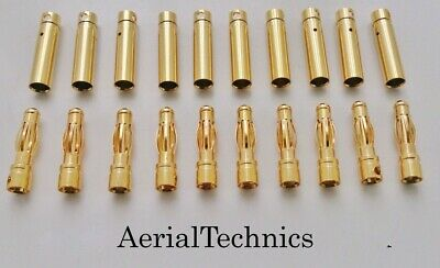 4mm Gold Connectors 12 Pairs • 4.95£