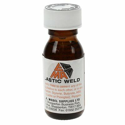 Ema Plastic Weld Liquid Poly Cement For Hard To Stick Plastics Abs Butyrate Glue • 2.99£