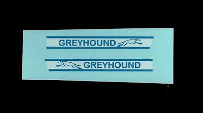 MATCHBOX TRANSFERS/DECALS - 66c GREYHOUND COACH • 2£