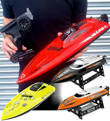 Radio Remote Control High Speed Racing Boat, Super Fast,Fantastic Quality Gift!  • 64.99£