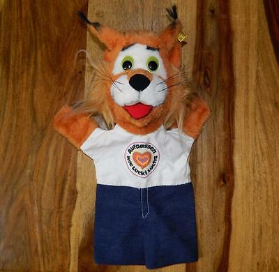 Steiff 1979  Lucki Luchs  Lynx Hand Glove Puppet With Button & Id Tag 7956-35 • 39.99£