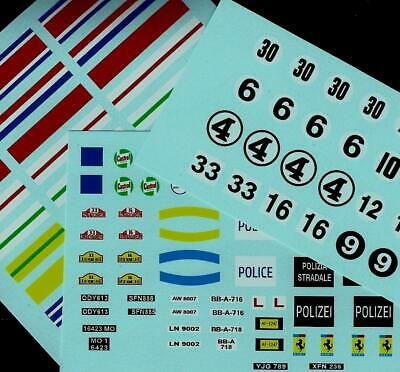 Triang Minic Motorway Transfers/decals • 4£