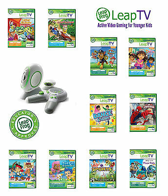 LeapFrog LeapTV Games Educational Software 3 To 8 Years (Leap TV Console) • 7.99£