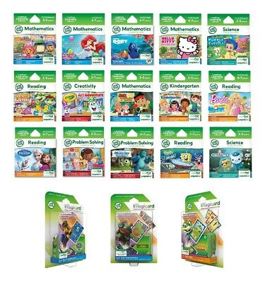 LeapFrog LeapPad Games Learning Software & EBooks *Brand New* • 13.49£