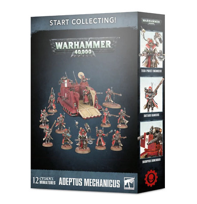 Start Collecting Adeptus Mechanicus Games Workshop • 50£