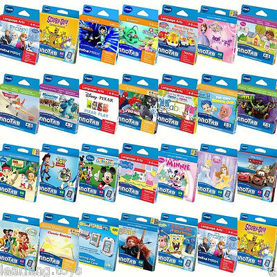 Vtech InnoTab 3S MAX Games & Cases BUY 1 GET 1 AT 20% OFF (add 2 To Basket) • 14.99£