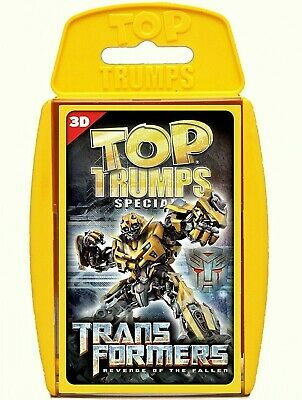 Transformers Revenge Of The Fallen Top Trumps Specials New And Sealed • 4.99£