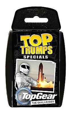 Top Gear The Challenges Top Trumps Specials New And Sealed • 2.99£